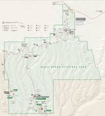 Great Basin National Park Map Mesa Verde Maps Npmaps Com Just Free Maps Period