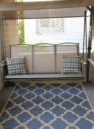 Front Porch Bench Admirable Design Ideas Using Rectangular Black Iron Hanging Bench