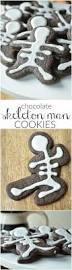 little chocolate skeleton men cookies sugar dish me