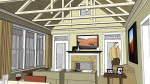 small vacation home floor plans cottage home design with open floor plan and vaulted ceiling