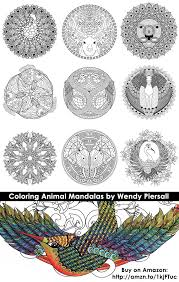 animal mandala coloring pages animal jr