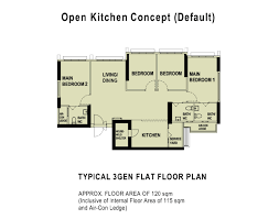Hdb Floor Plans Hdb 3gen Flats 5 Things You Need To Know Before Buying One