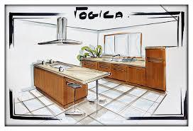 comment dessiner une cuisine cuisine en perspective le photoblog de roccoco
