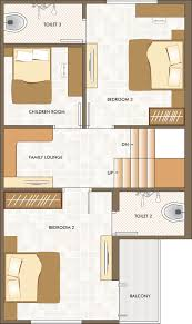 Toddler Room Floor Plan by Shreenathji The Dream City Projects Khatamba Vadodara