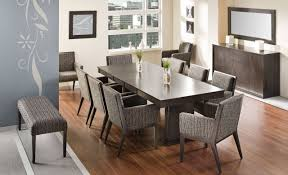 image of narrow long kitchen table super long dining table