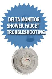How To Repair Delta Monitor Shower Faucet Delta Monitor Shower Faucet Troubleshooting U0026 Repair Guide