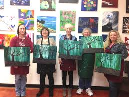 painting with a twist northwest five ideas for a great girls night out only in arkansas