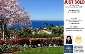 palos verdes luxury homes 콜드웰뱅커 조이스김 luxury hancock park home sold