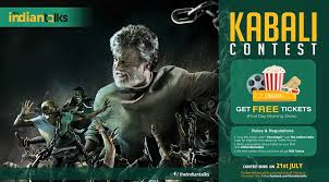 how to get rajanikanth u0027s kabali movie tickets for free