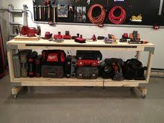 how to build a heavy duty workbench i like these brackets that