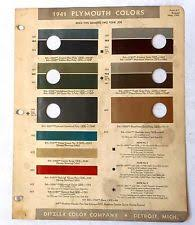 ppg paint color chart ebay