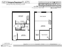 One Bedroom Floor Plans One Bedroom Apartments In Richmond Va Manchester District