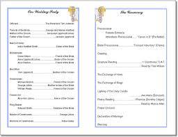 Wedding Program Templates Word Free Wedding Program Templates Affordablecarecat