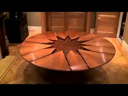Expandable Round Dining Table | new technology table expandable round dining table youtube