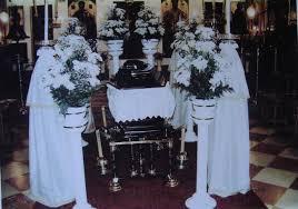 Church Decorations Manetas Funeral Services Corfu Greece γραφεία τελετών μανετασ