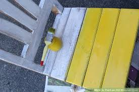 how to paint an old wooden chair 10 steps with pictures