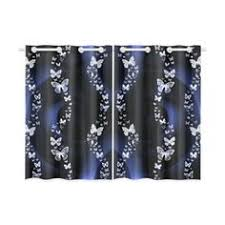 Butterfly Kitchen Curtains by Pink Butterflies Kitchen Curtain 26 Kitchen Curtains Pinterest