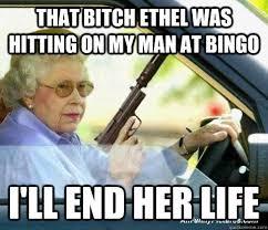 old lady bingo memes quickmeme