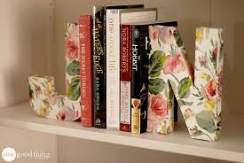 display your books in style u2013 quirky diy bookends