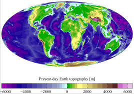 Topographic Map Of The World by Terrain Wikipedia