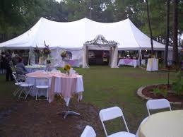 Canopy Tent Wedding by Fairy Tale Tents U0026 Party Rentals Tent Rentals Statesboro Ga