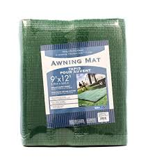 Awning Mats Amazon Com Camco 42820 Awning Leisure Mat 9 U0027 X 12 U0027 Green