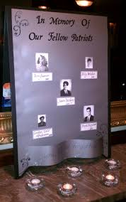 ideas for class reunions simple display to remember deceased classmates from the parkway