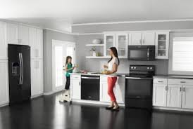 black kitchen cabinets with black appliances photos the best appliance features for your money