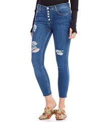light blue skinny jeans womens blue skinny free people destroyed reagan button front skinny jeans