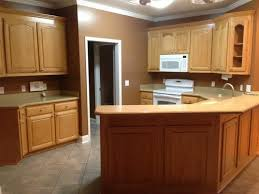 kitchen wall paint with brown cabinets what color do i paint kitchen walls and cabinets with white