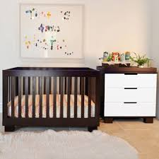 Babyletto Modo 3 In 1 Convertible Crib Modern Babyletto 2 Nursery Set Modo Espresso 3 In 1 Crib