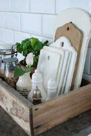 boite de rangement cuisine pas cher astuces rangement cuisine à faire soi même caisse récup et planches