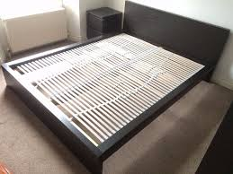 Small Double Bed Frames Ikea by Double Bed Frame Ikea Malm And Slatted Bed Base In Clifton