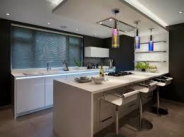 cuisine contemporaine design cuisine moderne avec bar en l meuble bois ilot kuestermgmt co
