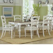 dining table and ladder back chair set by hillsdale wolf and dining table and ladder back chair set