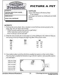picture a pet u2013 free fun printable kids activities u2013 jumpstart