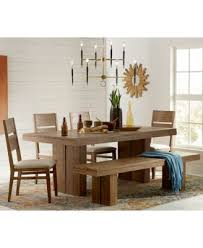 Macy S Dining Room Furniture Fabulous Chagne 4 Dining Room Furniture Set Trestle Table