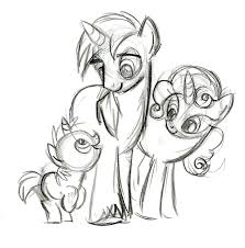 equestria daily mlp stuff production sketches on lauren