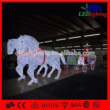 waterproof decoration carriage led acrylic outdoor
