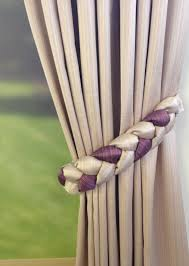 Curtain Tie Backs For How To Make Curtain Tie Backs At Home Www Elderbranch