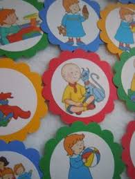 caillou birthday party live birthday cake turning