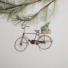 tin bicycle ornament magnolia market chip joanna gaines