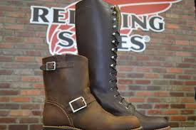 women s short motorcycle boots women u0027s heritage boots 3356 u0026 3386 red wing richmond