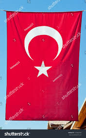 Hanging A Flag Vertically Turkish Flag Hanging Vertically Stock Photo 127362644 Shutterstock