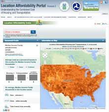 Home Affordability Calculator by Location Affordability Index Center For Neighborhood Technology