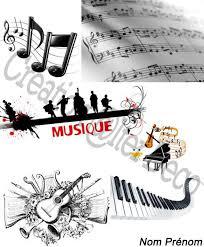Page de garde Musique  Photo de Conception de documents  Alter Déco