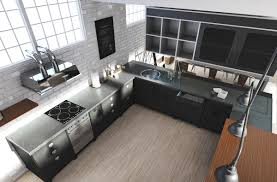view in gallery brooklyn loft kitchen with a stainless steel