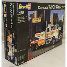 kenworth truck wreckers australia revell 1 25 07402 kenworth w900 wrecker model truck kit revell