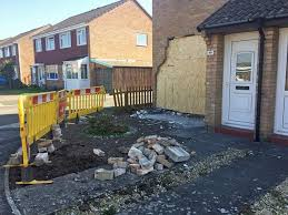 image of house woman dies after car smashes into side of house jersey evening post