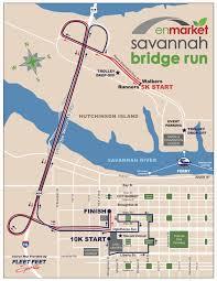 Savannah Map 2017 Enmarket Savannah Bridge Run Registration Sat Dec 2 2017